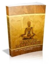Thumbnail Ways To Inner Peace - With Master Resale Rights