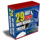 Thumbnail 29 Easy & Instant Web Design Tricks : Volume 1