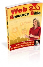 Thumbnail Web 2.0 Resource Bible - With Master Resale Rights