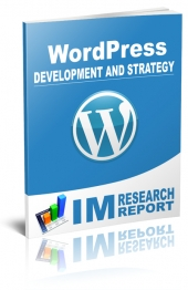 Thumbnail WordPress Report - Development and Strategy - With Master Resell Rights