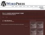 Thumbnail Wordpress Theme - Leather