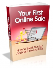 Thumbnail Your First Online Sale - With Master Resell Rights