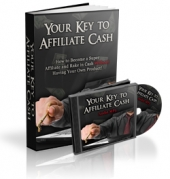 Thumbnail Your Key To Affiliate Cash - With Master Resale Rights