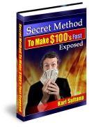 Thumbnail Secret Method To Make $100's Fast Exposed - With Master Resell Rights
