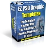 Thumbnail EZ PSD Graphic Templates - With Resell Rights