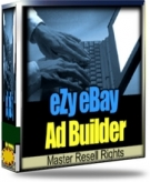 Thumbnail eZy eBay Ad builder - With Master Resale Rights