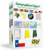 Thumbnail Geographical Clipart - With Resell Rights