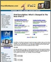 Thumbnail iPad 2 Website - With Private Label Rights
