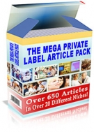 Thumbnail The Mega Private Label Article Pack - With Private Label Rights