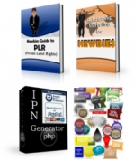 Thumbnail Newbie PLR Pack - With Private Label Rights