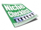 Thumbnail Niche Checklist With Resell Rights