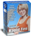 Thumbnail Sales Page Rapid fire With Master Resale Rights