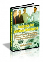 Thumbnail Success For Affiliate Managers - With Master Resale Rights