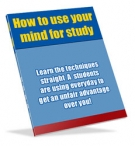 Thumbnail How to use your mind for study - With Resell Rights