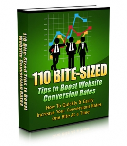Pay for 110 Bite-Sized Tips To Boost Website Conversion Rates With MRR (Master Resale Rights)