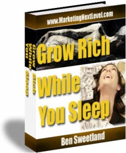 Pay for Grow Rich While You Sleep With MRR (Master Resale Rights)