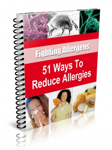 Pay for 51 Ways to Reduce Allergies With Resale Rights