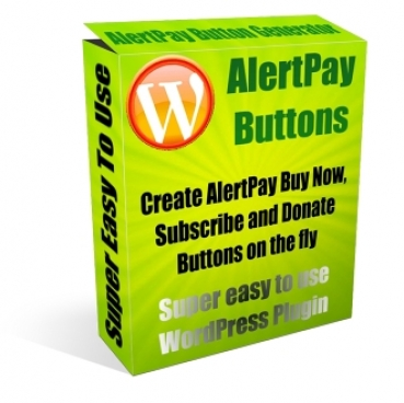 Pay for AlertPay Buttons Plugin - With Master Resale Rights