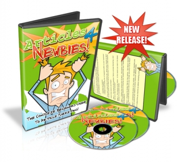 Pay for Articles 4 Newbies - With Resale Rights