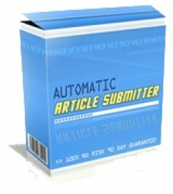 Pay for Automatic Article Submitter - With Master Resale Rights