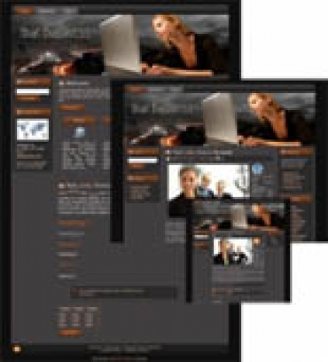 Pay for Business Web Template 1 - With Master Resale Rights