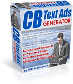 Pay for CB Text Ads Generator - With Resell Rights
