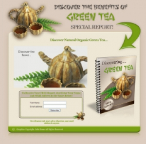 Pay for Discover The Benefits Of Green Tea Special Report! - With Resale Rights