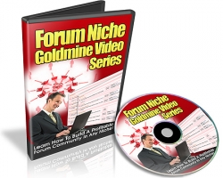 Pay for Forum Niche Goldmine - With Resale Rights