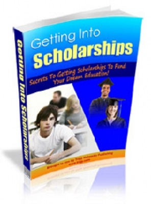 Pay for Getting Into Scholarships - With Master Resale Rights