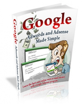 Pay for Google Adwords and Adsense Made Simple - With Master Resell Rights