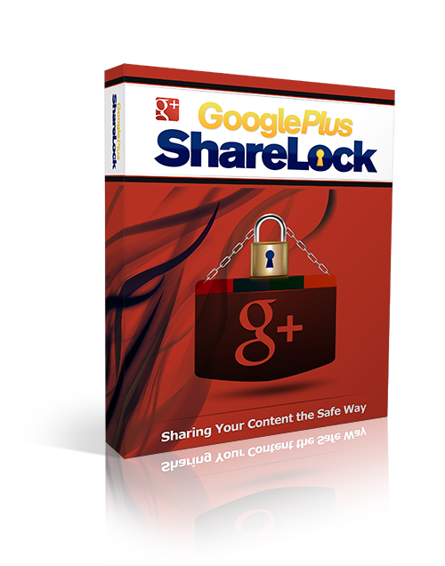 Pay for Google Plus ShareLock - With Resell Rights