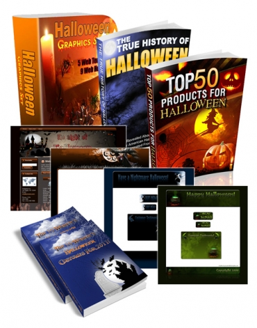 Pay for Halloween Super Pack - With Master Resell Rights