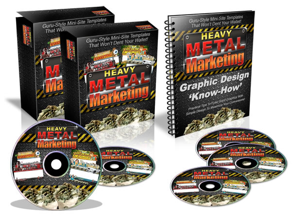 Pay for Heavy Metal Marketing - With Master Resale Rights