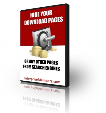 Pay for Hide Your Download Pages - With Private Label Rights