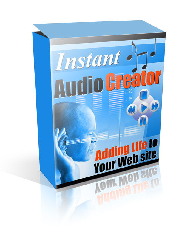 Pay for Instant Audio Creator - With Resale Rights