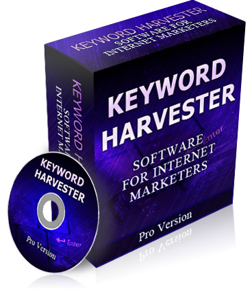 Pay for Keyword Harvester - With Resale Rights
