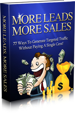 Pay for More Leads More Sales - With Master Resale Rights