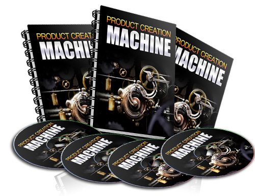 Pay for Product Creation Machine - With Resale Rights
