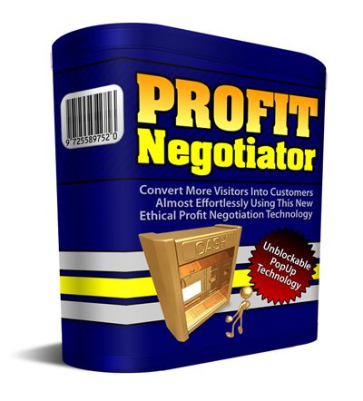 Pay for Profit Negotiator - With Private Label Rights