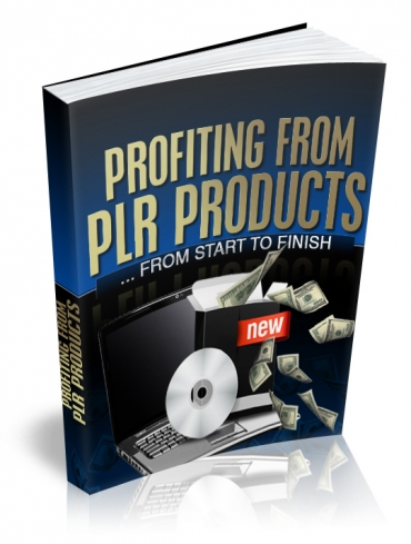 Pay for Profiting From PLR Products - With Master Resell Rights