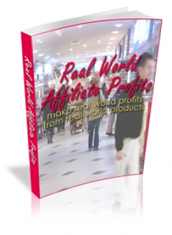 Pay for Real World Affiliate Profits - With Master Resale Rights