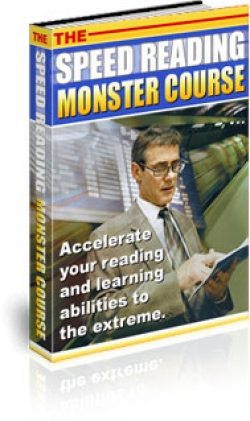 Pay for The Speed Reading Monster Course - With Private Label Rights