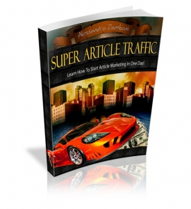 Pay for Super Article Traffic With Master Resale Rights