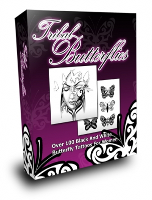 Pay for Tribal Butterflies - With Master Resale Rights