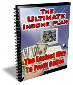 Pay for The Ultimate Income Plan - With Master Resale Rights