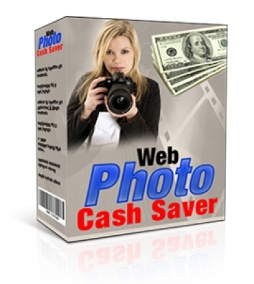 Pay for Web Photo Cash Saver - With Master Resale Rights