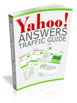 Pay for Yahoo! Answers Traffic Guide - With Private Label Rights