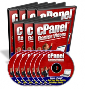 Pay for cPanel Basics Videos - With Master Resale Rights