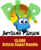 Thumbnail Monster PLR Articles Package 15000 Articles