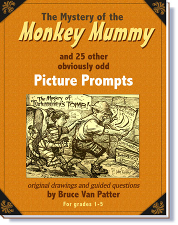 Pay for The Mystery of the Mummy Monkey and other Picture Prompts